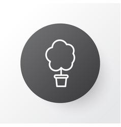 tree icon symbol premium quality isolated wood vector image vector image
