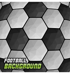 football background triangles text vector image vector image