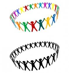 friendship symbol vector image