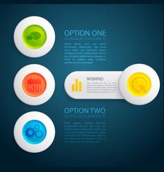 business design concept background vector image