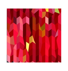 Cardinal Red Abstract Low Polygon Background vector