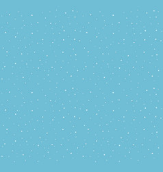 falling snow pattern vector image