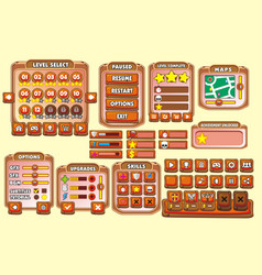 Game gui 22 vector