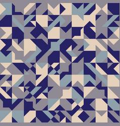 Intricate geometrical seamless pattern design vector
