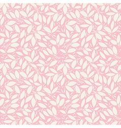 pink texture with berry and flower silhouette vector image