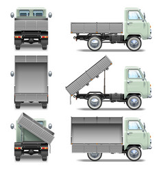 Tipper Truck vector