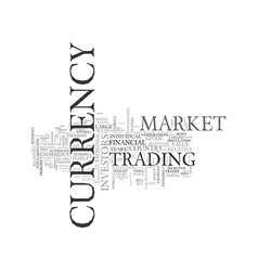 what is forex get rich text word cloud concept vector image