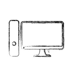 Computer electronic technology vector