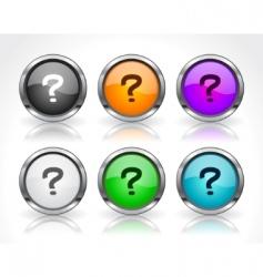 website menu items vector image vector image