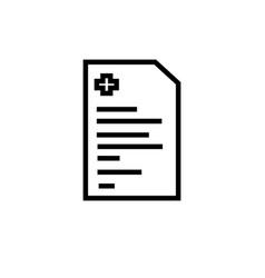 diagnose icon vector image