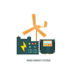 solar panel system equipment vector image