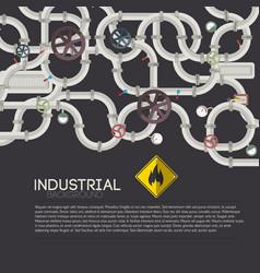 technologic mechanism background vector image