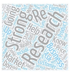 Will Your Business Idea Work text background vector image