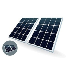 Solar battery vector image vector image