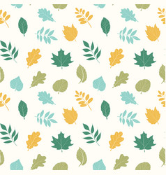beautiful elegant seamless pattern vector image