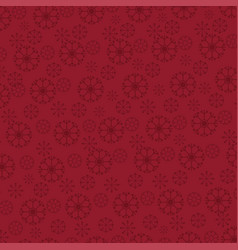 christmas pattern background red vector image