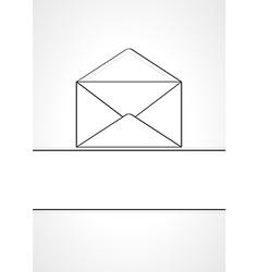Empty envelope vector