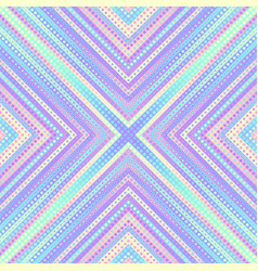 Geometric abstract symmetric pattern in low poly vector