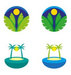 islands2 vector image