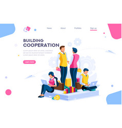 Message for cooperation plan vector