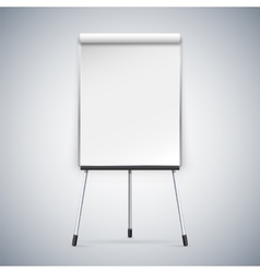 Office Flipchart vector image