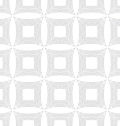Repeating ornament many lines forming squares vector image