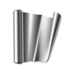 Roll of foil vector