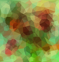 Vivid color polygonal background vector image