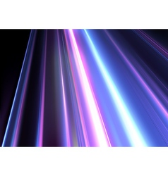 Colored Light beams vector image vector image