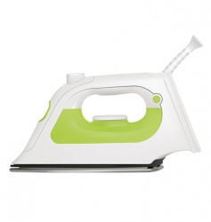 steam iron vector image vector image