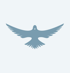 dove symbol of the holy spirit vector image vector image
