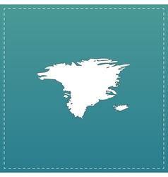 map - Alaska vector image