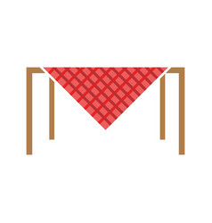 picnic table vector image vector image