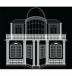 Architectural Facade vector