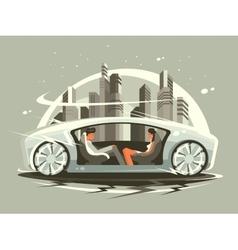 Car future vector