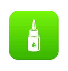eye drop icon simple style vector image