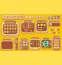 Game gui 28 vector