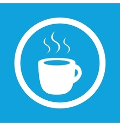 Hot drink sign icon vector