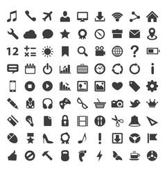 icon set art technology file vector image