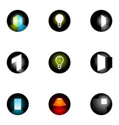 Logo design elements set 33 vector
