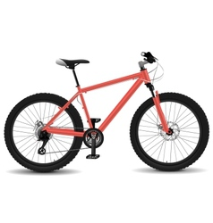 Montain bike vector
