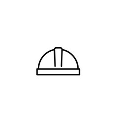 work hat icon vector image