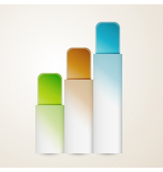 blank vertical banners vector image vector image