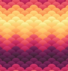 Tropical sunset warm blobs seamless backgro vector image vector image