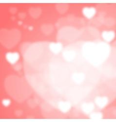Valentine Bokeh vector image vector image