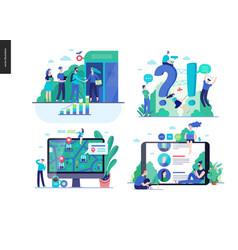 Business series - set vector