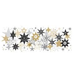 elegant merry christmas background banner vector image