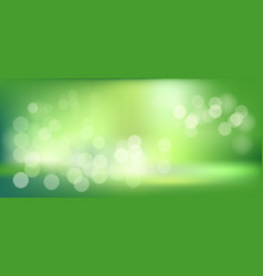 green abstract blur bokeh background with blurry vector image