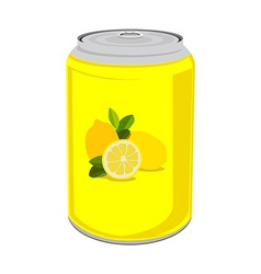 Lemon drink vector image