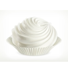 Meringue icon vector